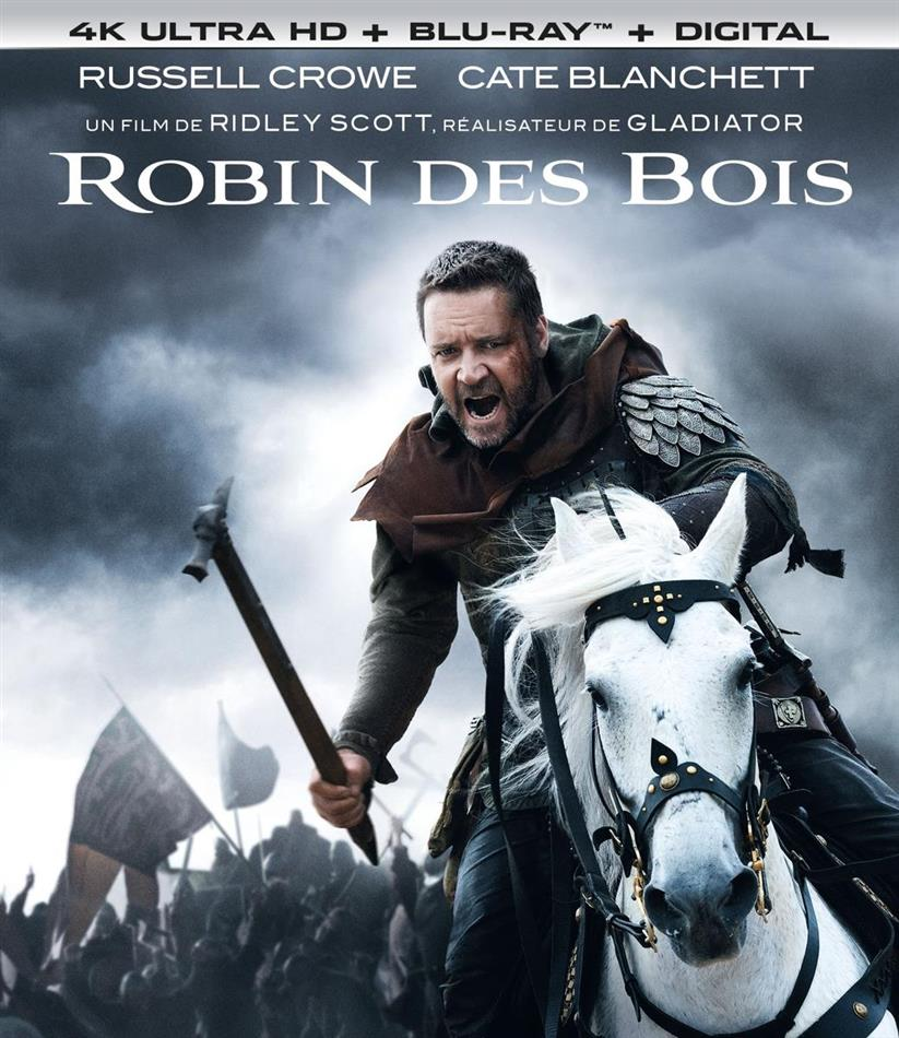 Robin des bois (2010) (4K Ultra HD + Blu-ray)