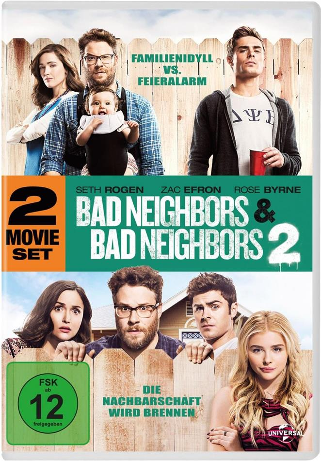 Bad Neighbors / Bad Neighbors 2 (2 DVDs)
