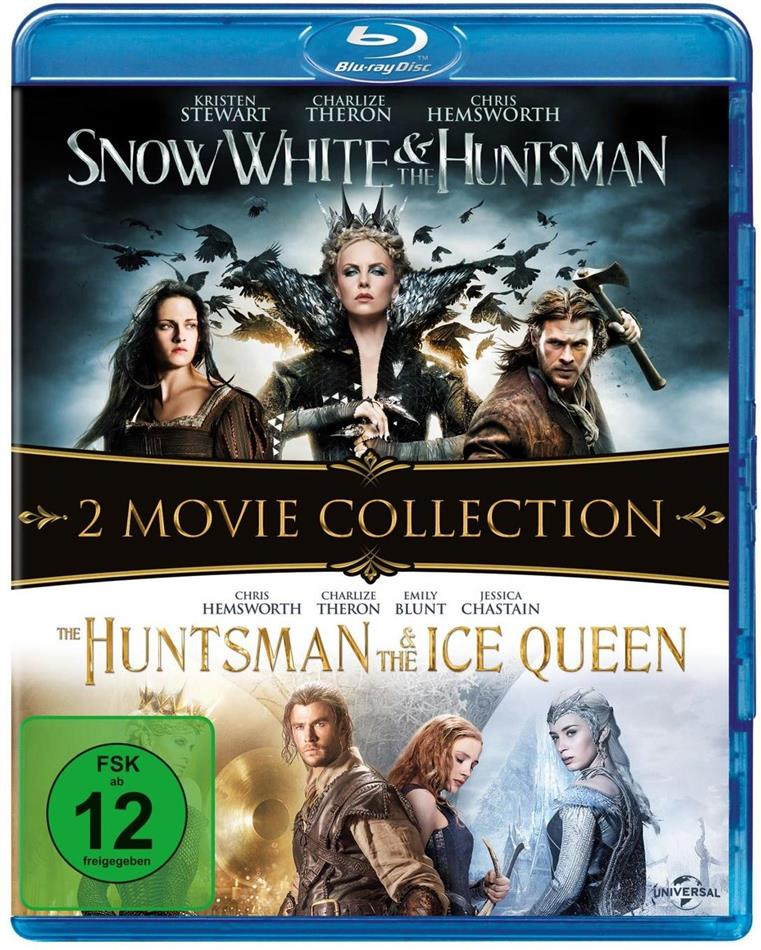 Snow White and the Huntsman / The Huntsman & The Ice Queen (2 Blu-rays)