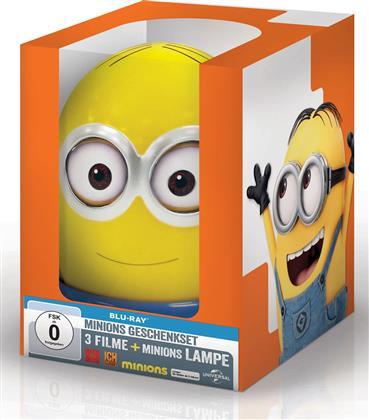 Minions / Ich - Einfach Unverbesserlich / Ich - Einfach Unverbesserlich 2 (Limited Edition, 3 Blu-rays)