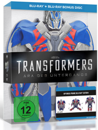 Transformers 4 - Ära des Untergangs - Optimus Edition - Ära des Untergangs (Limitierte Optimus Edition - Real 3D + 2D / 3 Discs) (2014) (Limited Edition)