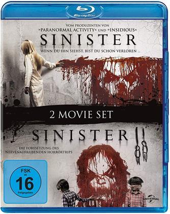 Sinister 1 & 2 (2 Blu-rays)