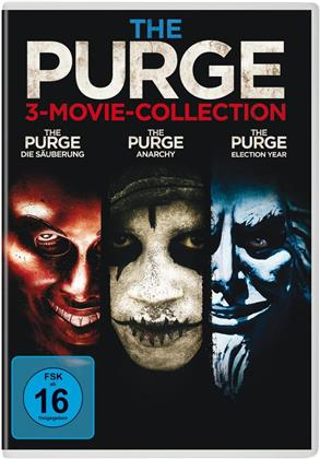 The Purge - 3-Movie Collection (3 DVDs)