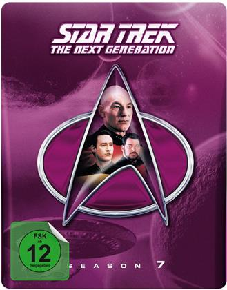 Star Trek - Next Generation - Staffel 7 (Limited Edition, Steelbook, 6 Blu-rays)