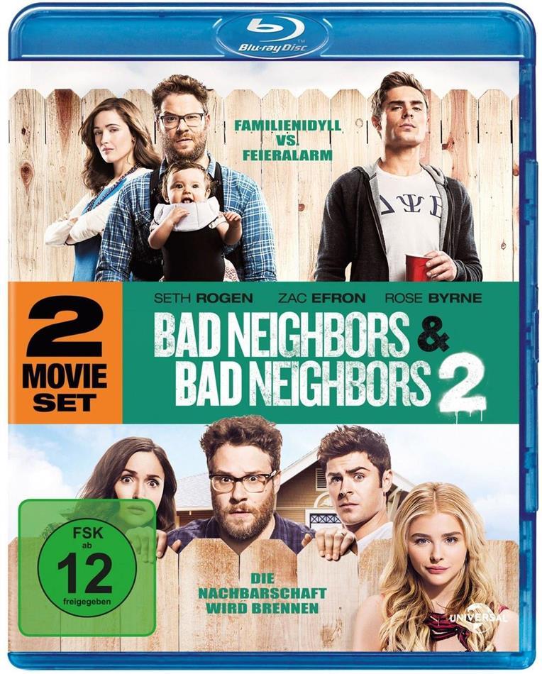 Bad Neighbors / Bad Neighbors 2 (2 Blu-rays)