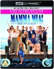 Mamma Mia! 2 - Here We Go Again! (2018) (4K Ultra HD + Blu-ray)