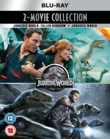 Jurassic World (2015) / Jurassic World 2: Fallen Kingdom (2018) (2 Blu-rays)