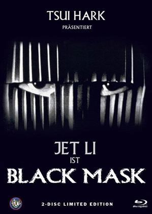 Black Mask (1996) (Cover B, Limited Edition, Mediabook, Blu-ray + DVD)