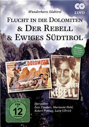 Flucht in die Dolomiten / Der Rebell / Ewiges Südtirol (2 DVDs)