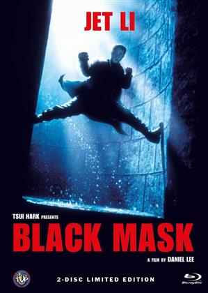 Black Mask (1996) (Cover A, Limited Edition, Mediabook, Blu-ray + DVD)