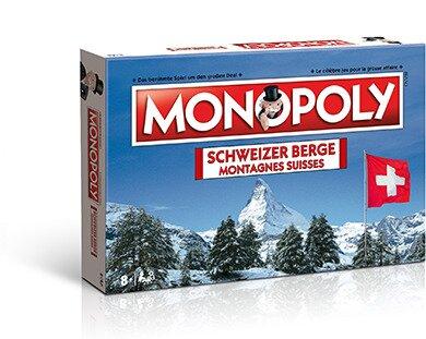 Monopoly - Schweizer Berge