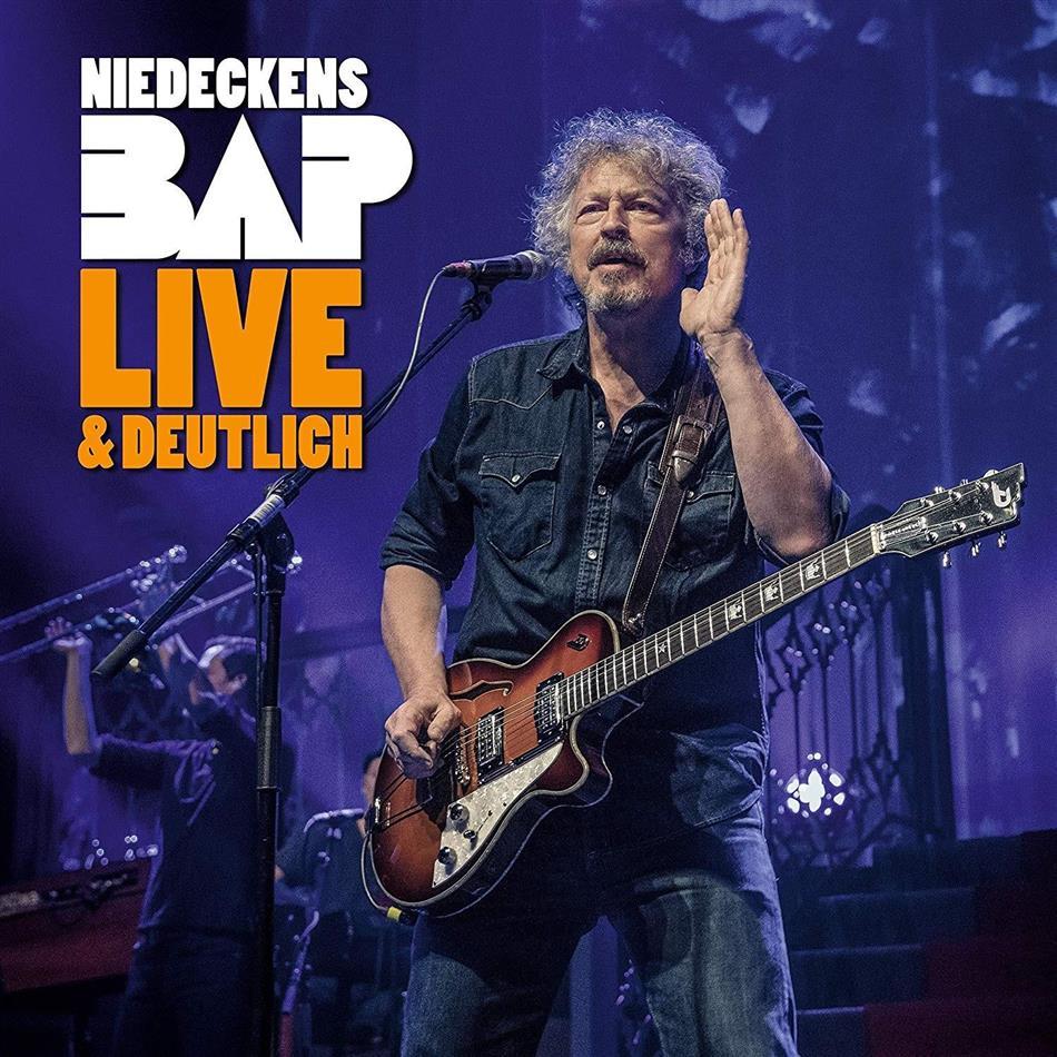 Wolfgang Niedecken & Bap - Live & Deutlich (Digipack, Limited Edition, 2 CDs)