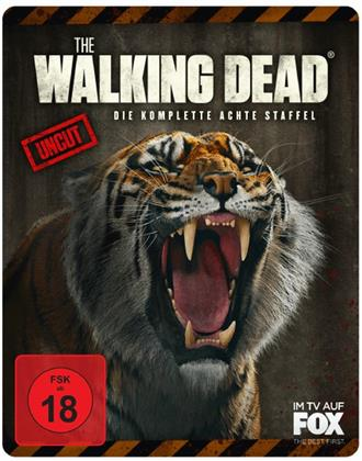 The Walking Dead - Staffel 8 (Extended Edition, Limited Edition, Steelbook, Uncut, 6 Blu-rays)