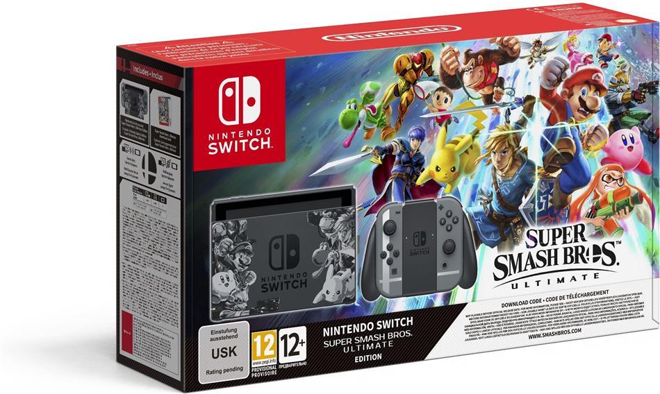 Nintendo Switch Console + Super Smash Bros. Ultimate-Edition