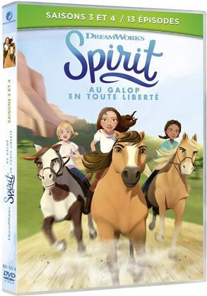 Spirit, au galop en toute liberté - Saisons 3 + 4 (2 DVD)