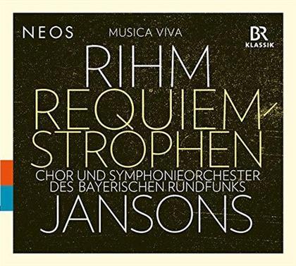 Mariss Jansons, Symphonieorchester des Bayerischen Rundfunks, Chor des Bayerischen Rundfunks & Wolfgang Michael Rihm (*1952) - Requiem Strophen (CD + Hybrid SACD)