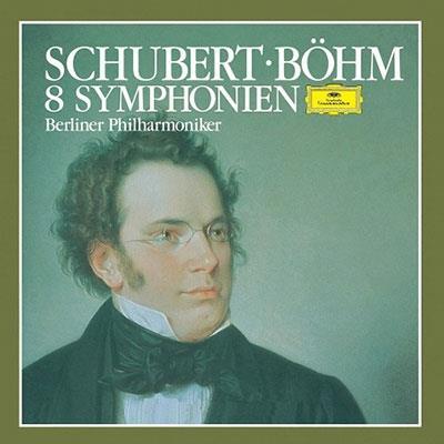 Franz Schubert (1797-1828), Karl Böhm & Berliner Philharmoniker - 8 Symphonies (Limited, Japan Edition, SACD)