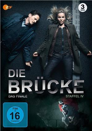 Die Brücke - Transit in den Tod - Staffel 4 - Die Finale Staffel (3 DVDs)