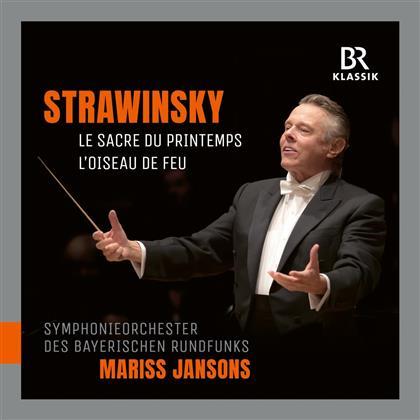 Igor Strawinsky (1882-1971), Mariss Jansons & Symphonieorchester des Bayerischen Rundfunks - Le Sacre Du Printemps (Hybrid SACD)