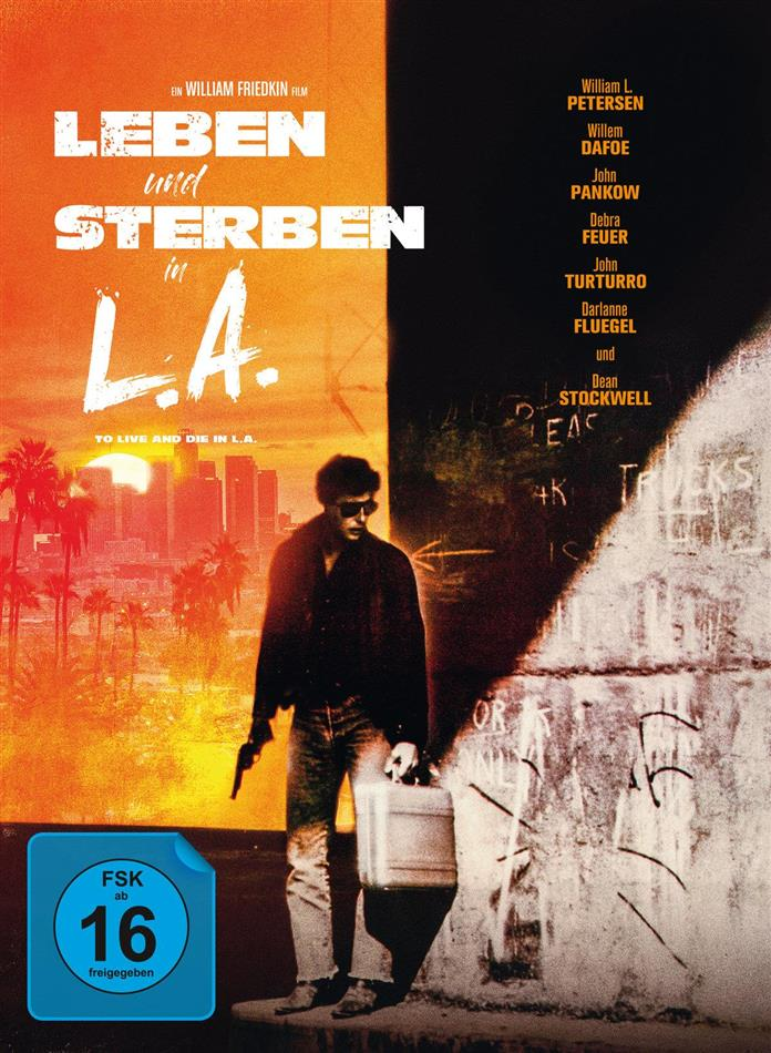 Leben und Sterben in L.A. (1985) (Collector's Edition, Limited Edition, Mediabook, Blu-ray + DVD)