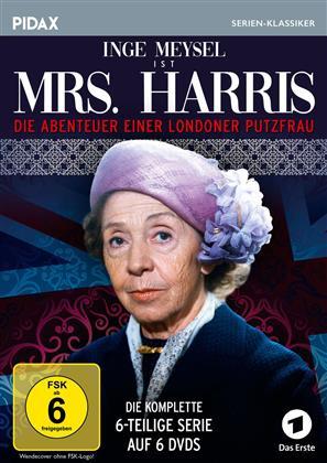 Mrs. Harris - Die Abenteuer einer Londoner Putzfrau - Die komplette Serie (Pidax Serien-Klassiker, 6 DVDs)