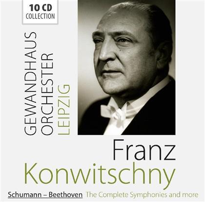 Robert Schumann (1810-1856), Ludwig van Beethoven (1770-1827), Franz Kowitschny & Gewandhausorchester Leipzig - Sämtliche Symphonien & Mehr (10 CDs)