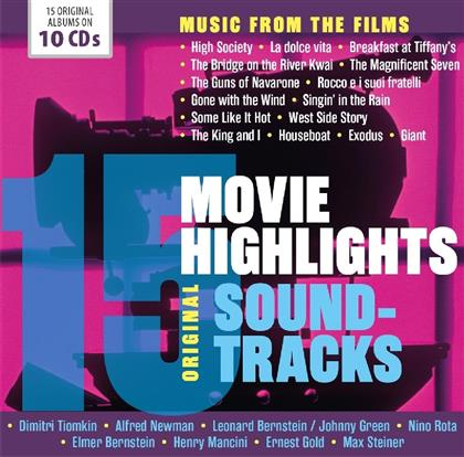 15 Movie Highlights - Music From The Films - OST (10 CDs)