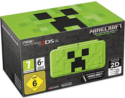 Minecraft New Nintendo 2DS XL (Creeper-Edition)