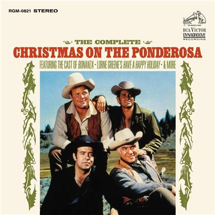 Lorne Green & Cast Of Bananza - Complete Christmas On The Ponderosa Ranch