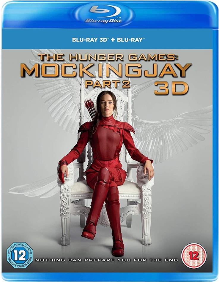 The Hunger Games 4 - Mockingjay - Part 2 (2015) (Blu-ray 3D + Blu-ray)