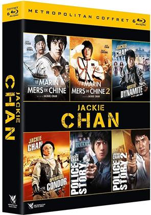 Jackie Chan - Le Marin des Mers de Chine 1 & 2 / Mister Dynamite / Operation Condor / Police Story 1 & 2 (6 Blu-rays)