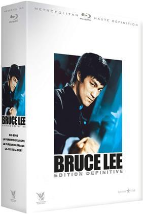 Bruce Lee - Big Boss / La fureur de vaincre / La fureur du dragon / Le jeu de la mort (4 Blu-rays)
