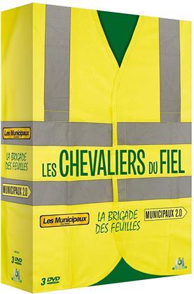 Les Chevaliers du Fiel - Les Municipaux / La brigade des feuilles / Municipaux 2.0 (3 DVDs)