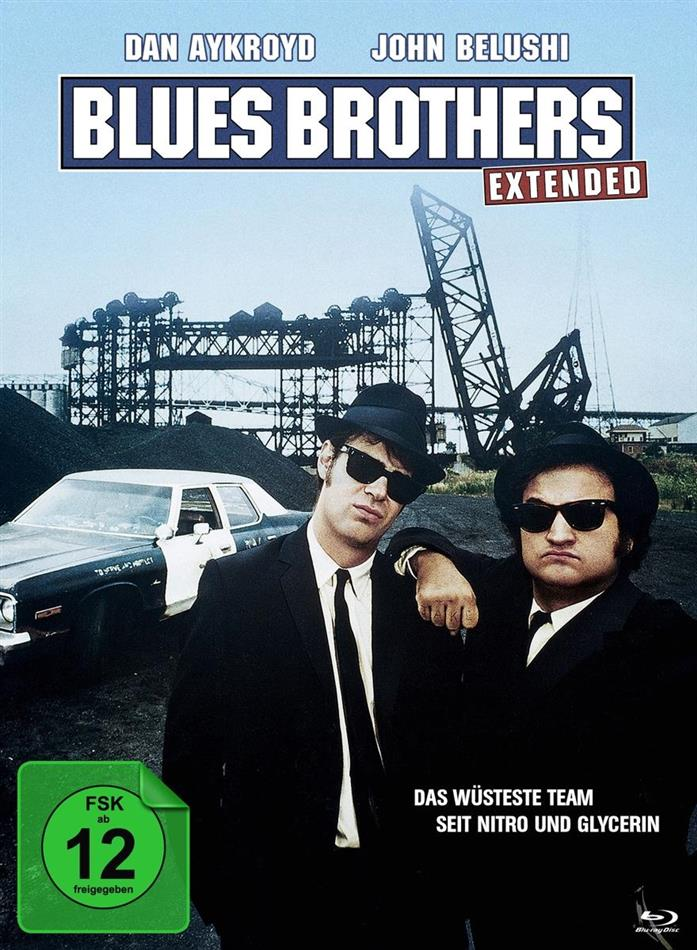 Blues Brothers (1980) (Deluxe Edition, Extended Edition, Limited Edition, Mediabook, 2 Blu-rays + DVD)