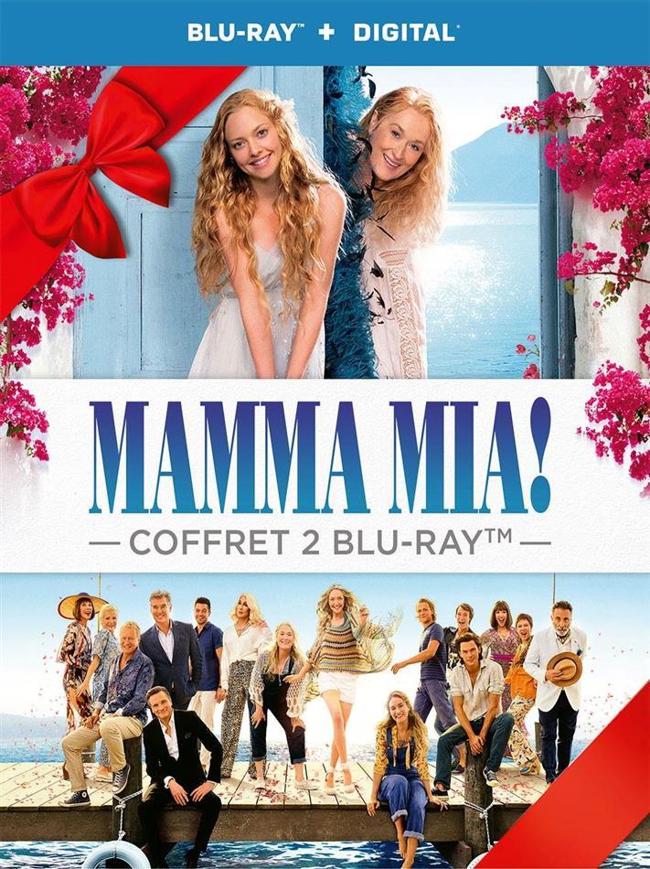 Mamma Mia! - Le film / Mamma Mia! 2 - Here We Go Again (2 Blu-rays)