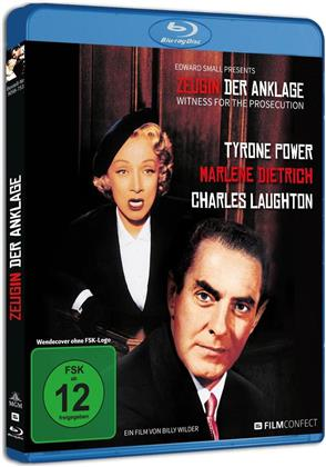 Zeugin der Anklage (1957) (Filmconfect, s/w)