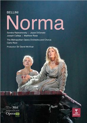Metropolitan Opera Orchestra, Carlo Rizzi, … - Bellini - Norma (Erato, 2 DVDs)