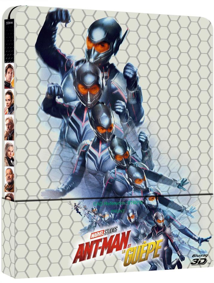 Ant-Man et la Guêpe (2018) (Steelbook, Blu-ray 3D + Blu-ray)