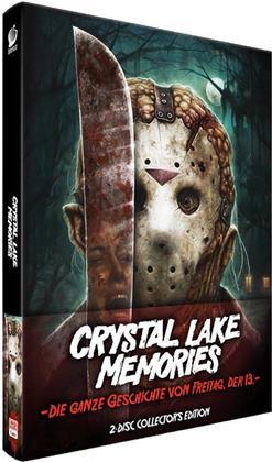 Crystal Lake Memories - Die ganze Geschichte von Freitag der 13. (2013) (Collector's Edition, Limited Edition, Mediabook, 2 Blu-rays)