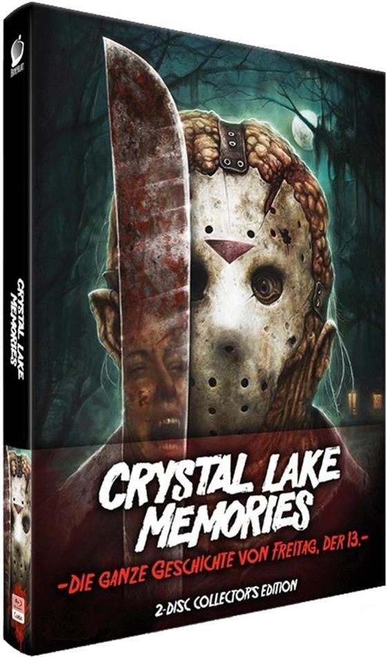 Crystal Lake Memories - Die ganze Geschichte von Freitag der 13. (2013) (Wattiert, Collector's Edition, Limited Edition, Mediabook, 2 Blu-rays)