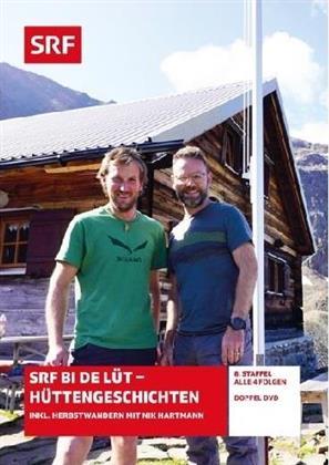 SRF bi de Lüt - Hüttengeschichten - Staffel 8 (2 DVDs)