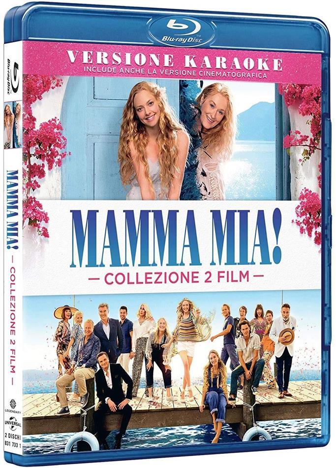 Mamma Mia! / Mamma Mia! 2 - Ci risiamo - Collezione 2 Film (Edizione Film + Karaoke, 2 Blu-rays)