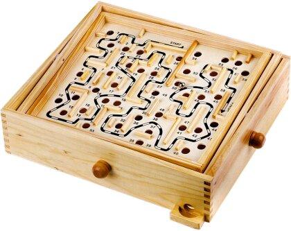 Kugel Labyrinth Holz