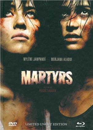 Martyrs (2008) (Cover A, Limited Edition, Mediabook, Uncut, Blu-ray + DVD)