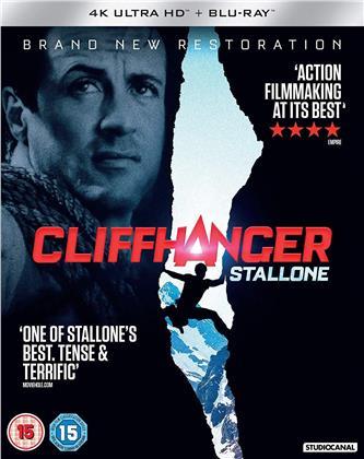 Cliffhanger (1993) (Restored, 4K Ultra HD + Blu-ray)
