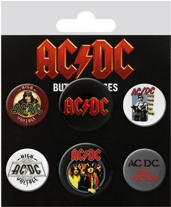AC/DC Mix Badge Pack