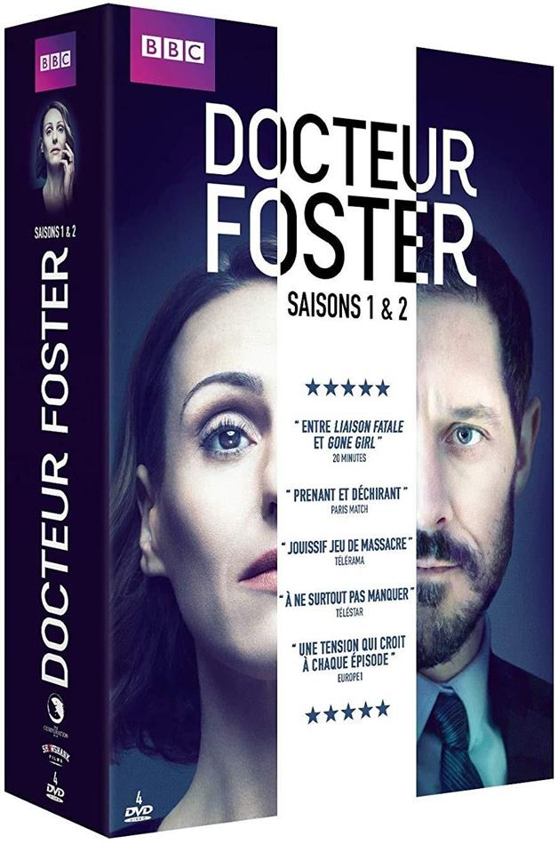 Dr Foster - Saisons 1 & 2 (BBC, 4 DVDs)