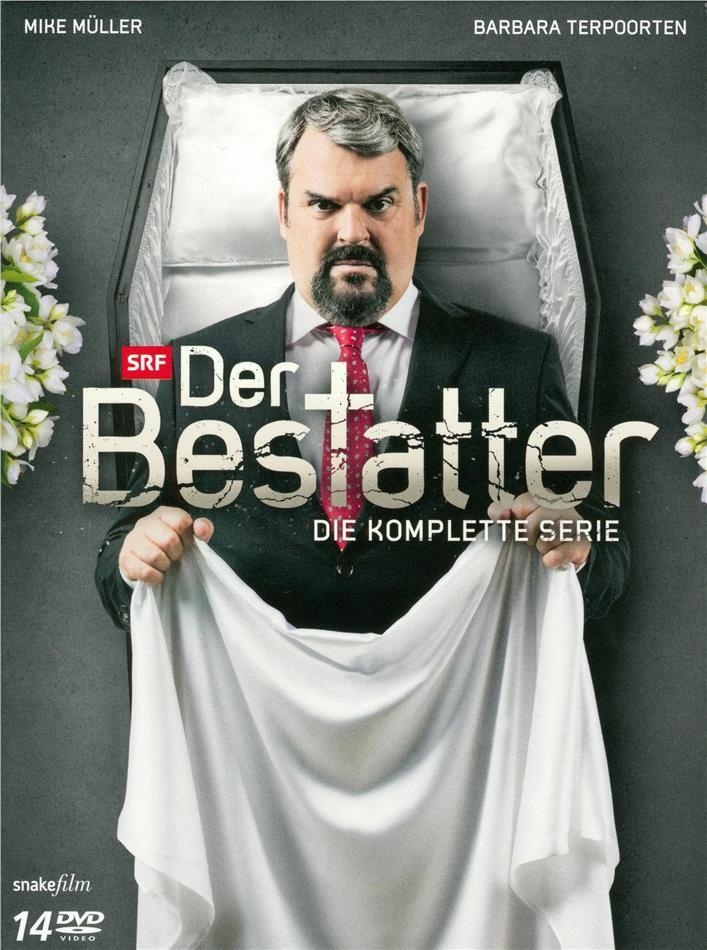 Der Bestatter - Die komplette Serie - Staffel 1-7 (14 DVDs)