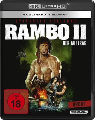 Rambo 2 - Der Auftrag (1985) (Uncut, 4K Ultra HD + Blu-ray)