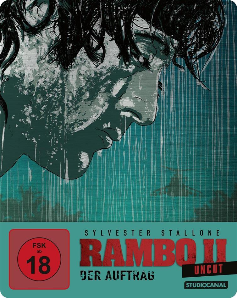 Rambo 2 - Der Auftrag (1985) (Limited Edition, Steelbook, Uncut)